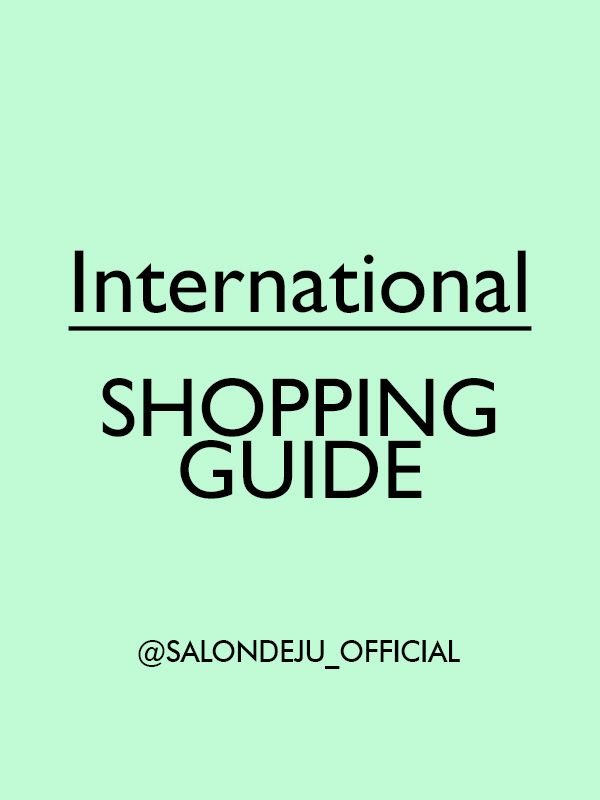 SALONDEJU ORDER GUIDE